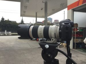 望遠レンズ撮影