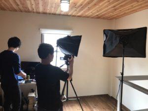 スタジオ写真撮影